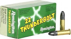 REMINGTON FIREARMS Ammunition .22 THUNDERBOLT 50 CARTRIDGES