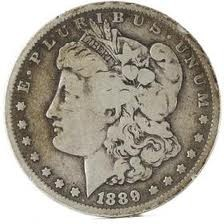 UNITED STATES Silver Coin 1889 O MORGAN
