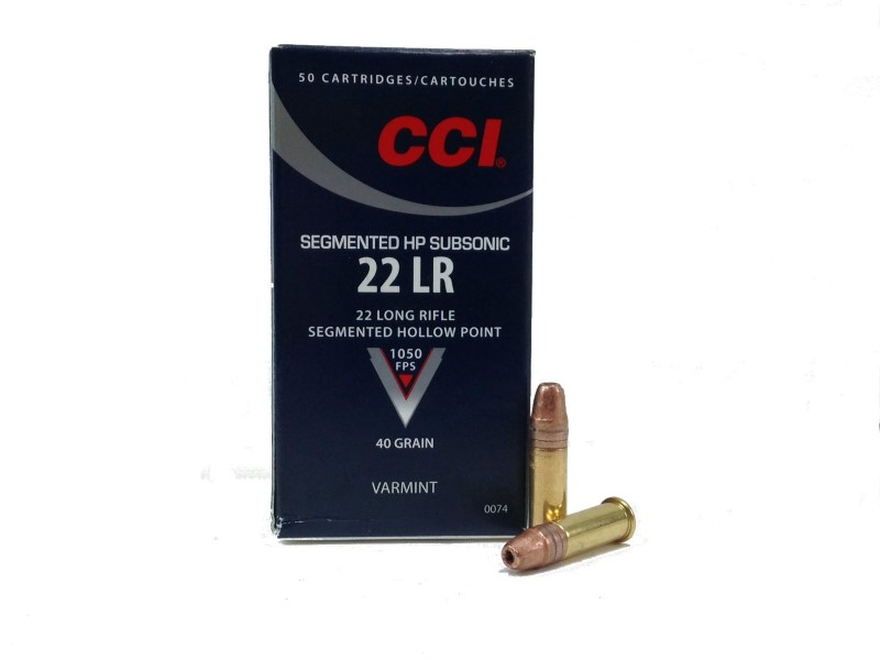 CCI AMMO Ammunition 22LR 50 RNDS