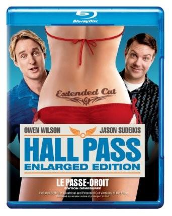 BLU-RAY MOVIE Blu-Ray HALL PASS ENLARGED ECITION