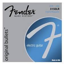 FENDER 3150LR ELECTRIC GUITAR STRINGS LIGHT/REGULAR