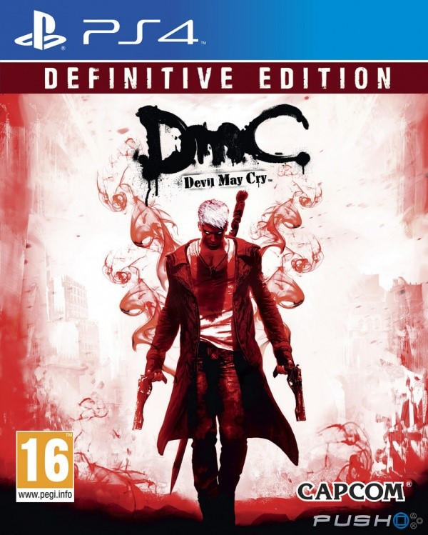 SONY Sony PlayStation 4 Game DEVIL MAY CRY DEFINITIVE EDITION PS4
