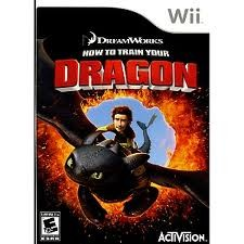 NINTENDO Nintendo Wii Game HOW TO TRAIN YOUR DRAGON