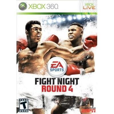 MICROSOFT XBOX 360 Game FIGHT NIGHT ROUND 4