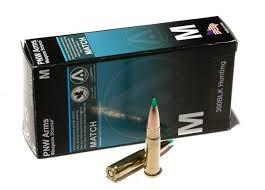 PNW Arms - 300 BLK Hunting - 125 GR. Nosler Ballistic Tip BT