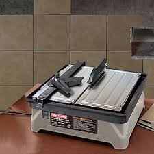 CRAFTSMAN Tile Saw 922320