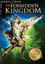 BLU-RAY MOVIE THE FORBIDDEN KINGDOM