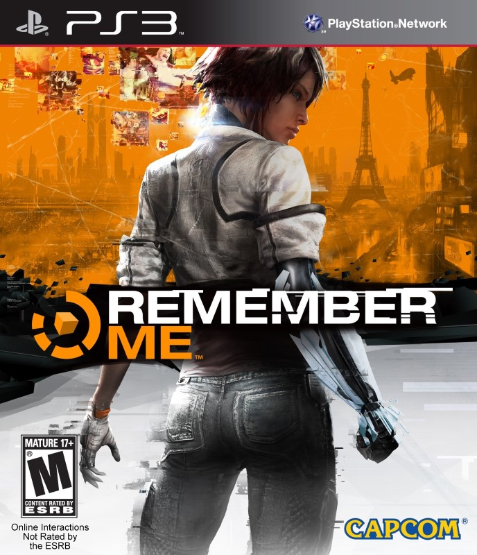 SONY Sony PlayStation 3 Game REMEMBER ME PS3