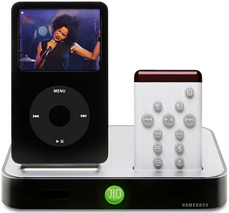 DLO IPOD/MP3 Accessory HOMEDOCK FOR IPOD