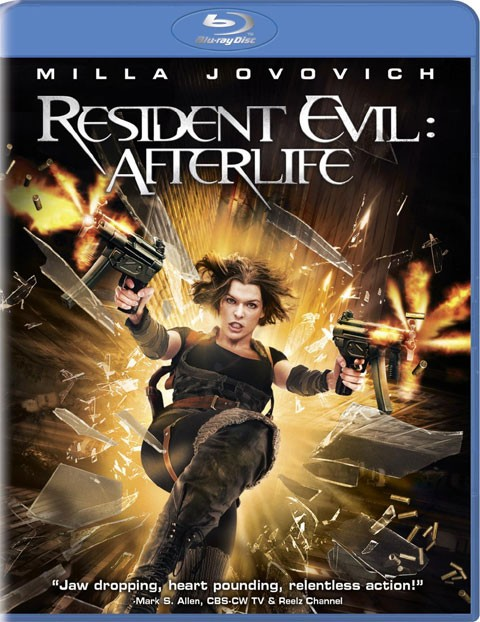 BLU-RAY MOVIE Blu-Ray RESIDENT EVIL: AFTERLIFE