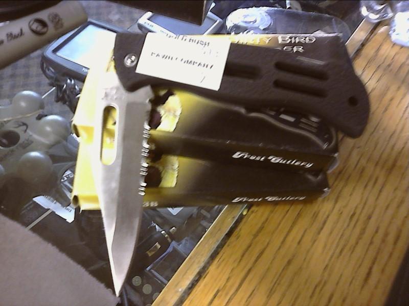 FROST CUTLERY Pocket Knife DIRTY BIRD FOLDER