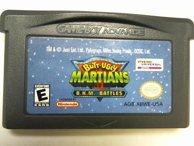 NINTENDO Nintendo GBA BUTT UGLY MARTIANS