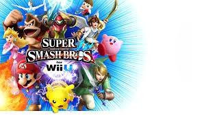 NINTENDO Nintendo Wii U Game SUPER SMASH BROS FOR WII U