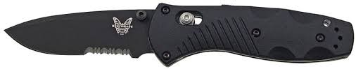 BENCHMADE Pocket Knife 585SBK MINI BARRAGE