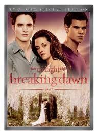 DVD MOVIE DVD TWILIGHT SAGA BREAKING DAWN PART 1