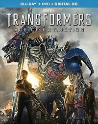 BLU-RAY MOVIE Blu-Ray TRANSFORMERS AGE OF EXTINCTION