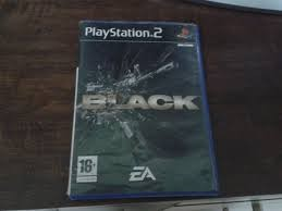 SONY Sony PlayStation 2 Game BLACK PS2