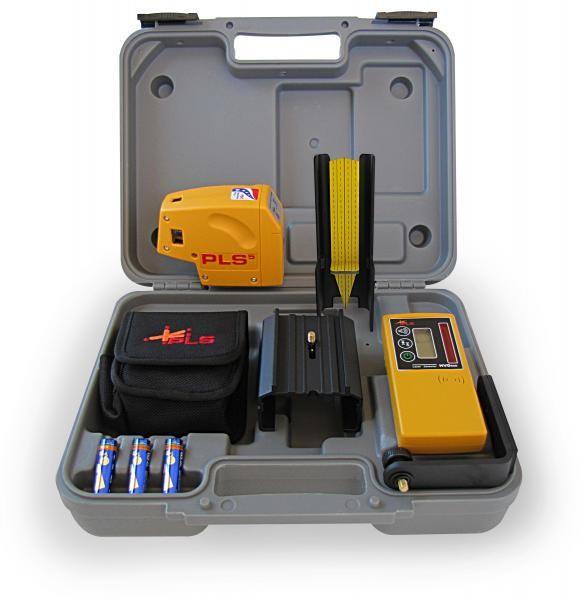 PACIFIC LASER SYSTEMS Level/Plumb Tool PLS5: PLUMB-LEVEL-SQUARE