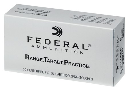 FEDERAL AMMUNITION Ammunition 9MM LUGER 115 GR FMJ (RTP9115)