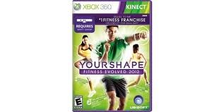MICROSOFT Microsoft XBOX 360 Game YOUR SHAPE FITNESS EVOLVED 2012