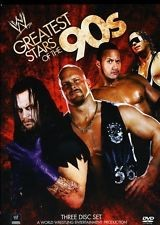 DVD BOX SET WWE GREATEST STARS OF THE 90'S