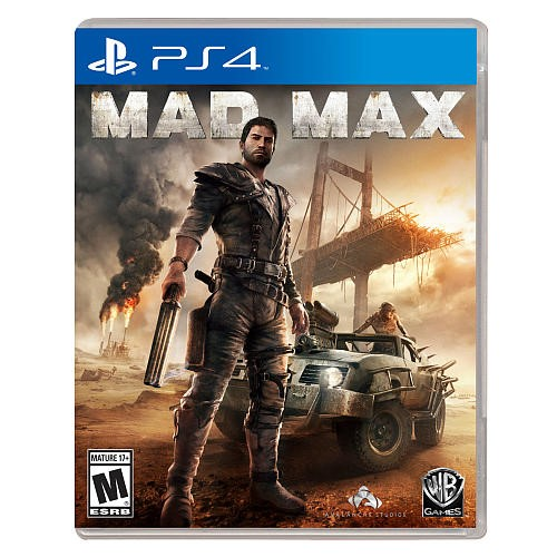 SONY Sony PlayStation 4 Game MAD MAX - PS4 - USED - GREAT CONDITION!
