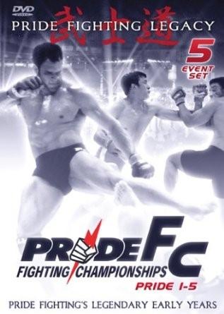 DVD BOX SET DVD PRIDE FC PRIDE 1-5