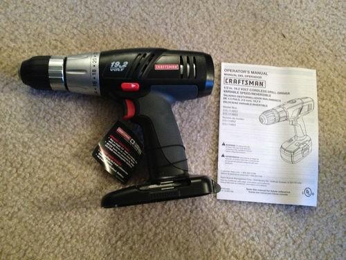 CRAFTSMAN Cordless Drill 315.114852