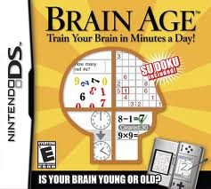 NINTENDO Nintendo DS Game BRAIN AGE