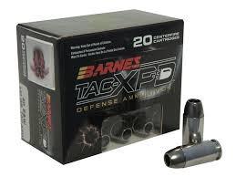 BARNES AMMUNITION Ammunition 40 SW