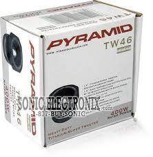 PYRAMID CAR AUDIO Car Audio TW46 TITANIUM SUPER TWEETER