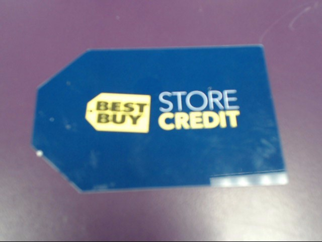 BEST BUY Gift Cards STORE CREDIT