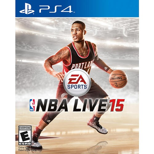 EA Sony PlayStation 4 Game NBA LIVE 15 PS4