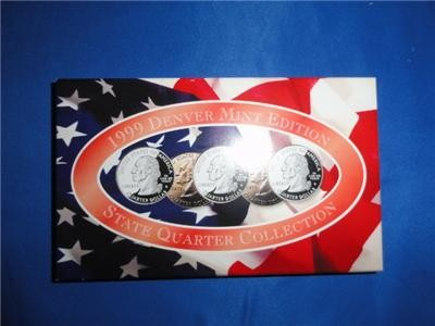 UNITED STATES Mint Set 1999 DENVER MINT EDITION STATE QUARTER COLLECTION