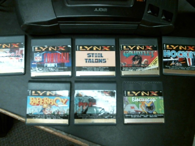 ATARI Vintage Game LYNX 2