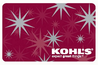 KOHL'S Gift Cards GIFT CARD