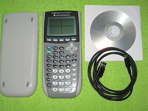TEXAS INSTRUMENTS Calculator TI-84 PLUS SILVER EDITION