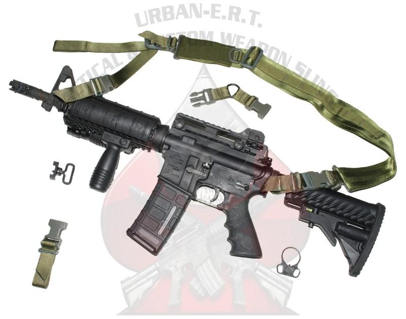 URBAN-E.R.T. Accessories DUAL SIM SLING COMPLETE KIT (GREEN)