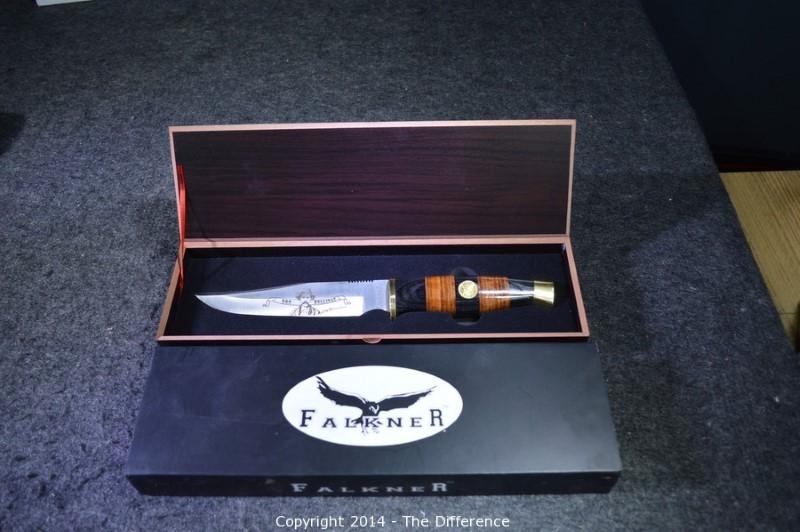 FALKNER KNIFE Hunting Knife DOC HOLIDAY