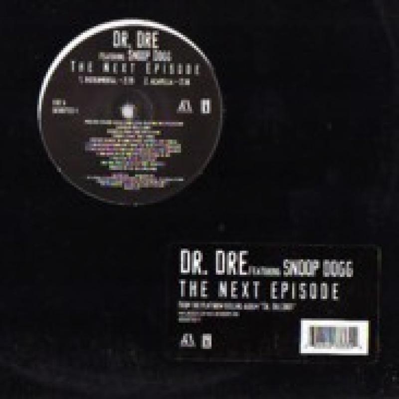 INTERSCROPE RECORDS Record DR. DRE THE NEXT EPISODE ALBUM 33 W SNOOP DOG