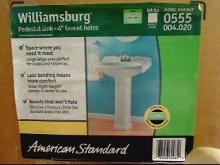 AMERICAN STANDARD Miscellaneous Appliances WILLIAMSBURG