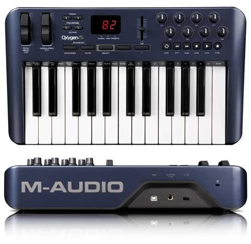 M-AUDIO OXYGEN 25 MIDI CONTROLLER