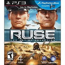 SONY Sony PlayStation 3 Game RUSE THE ART OF DECEPTION