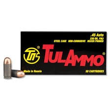 TUL AMMO Ammunition 45 AUTO