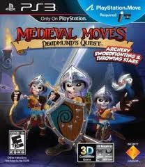 SONY Sony PlayStation 3 Game MEDIEVAL MOVES DEADMUNDS QUEST