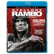 BLU-RAY MOVIE Blu-Ray RAMBO THE FIGHT CONTINUES