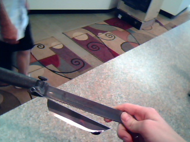 ROSTFREI Kitchen Knife DAS MAGISCHE MESSER