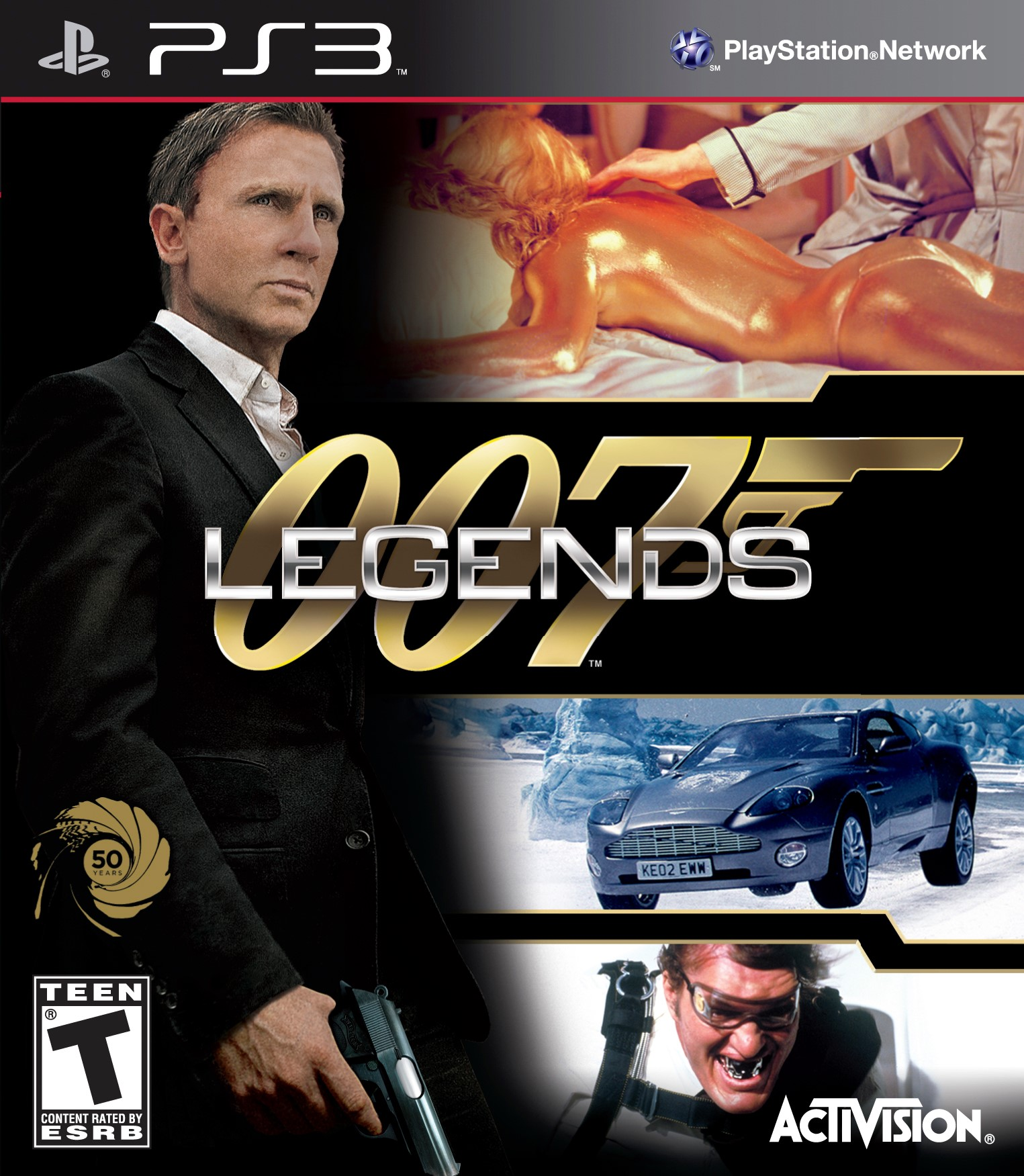 SONY Playstation 3 PS3 007 LEGENDS