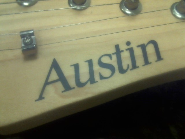 AUSTIN GUITARS Acoustic Guitar 6 STRING LEAD
