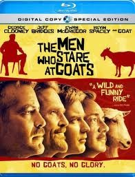 THE MEN WHO STARE AT GOATS BLU-RAY COMEDY MOVIE